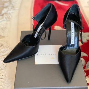 Diego dolcini made Italy black satin36!never worn